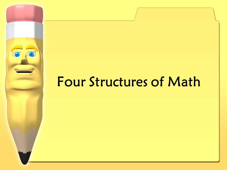 Four Structures of Math