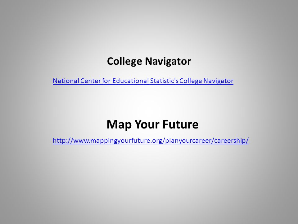National Center for Educational Statistic s College Navigator   Map Your Future College Navigator