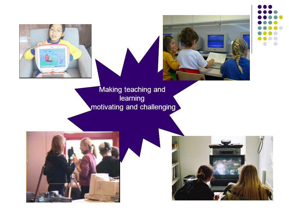 Making teaching and learning motivating and challenging