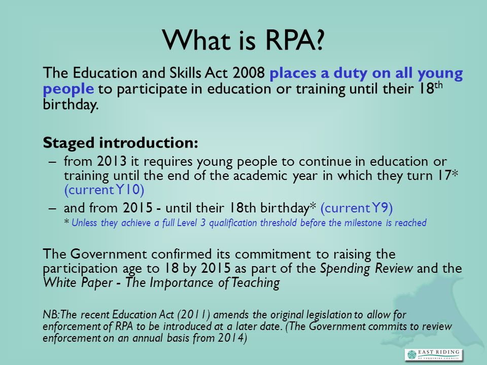 What is RPA.