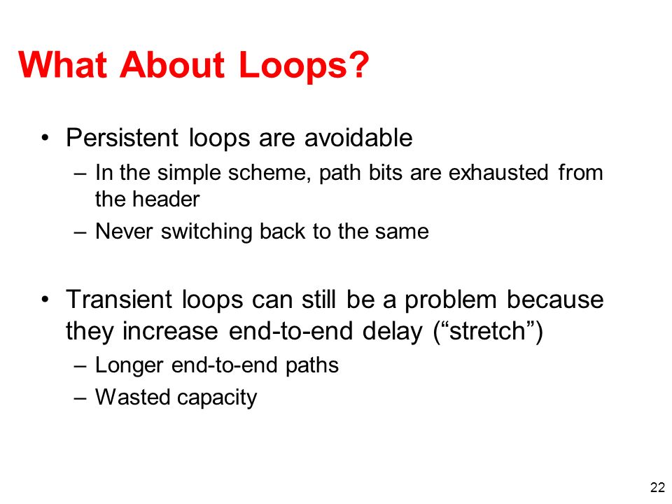 22 What About Loops.