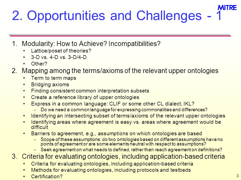 3 2. Opportunities and Challenges Modularity: How to Achieve.