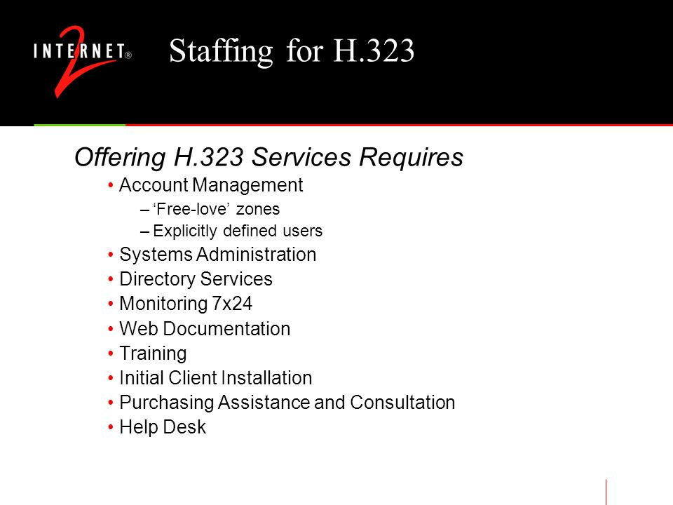 MCU H.323 Video Conferencing Bandwidth Requirements Audio & Video Streams (N*2*384Kbps)