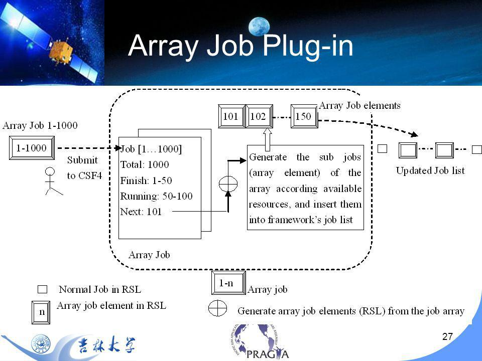 27 Array Job Plug-in