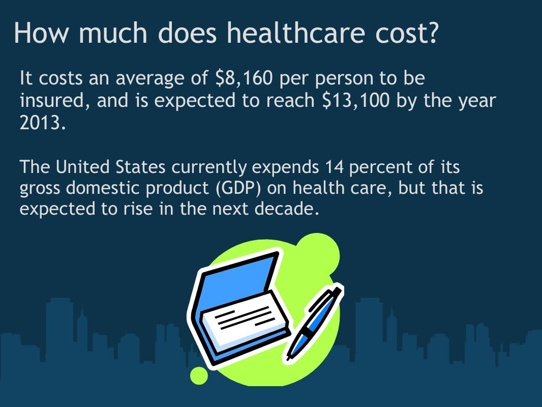 How much does healthcare cost.