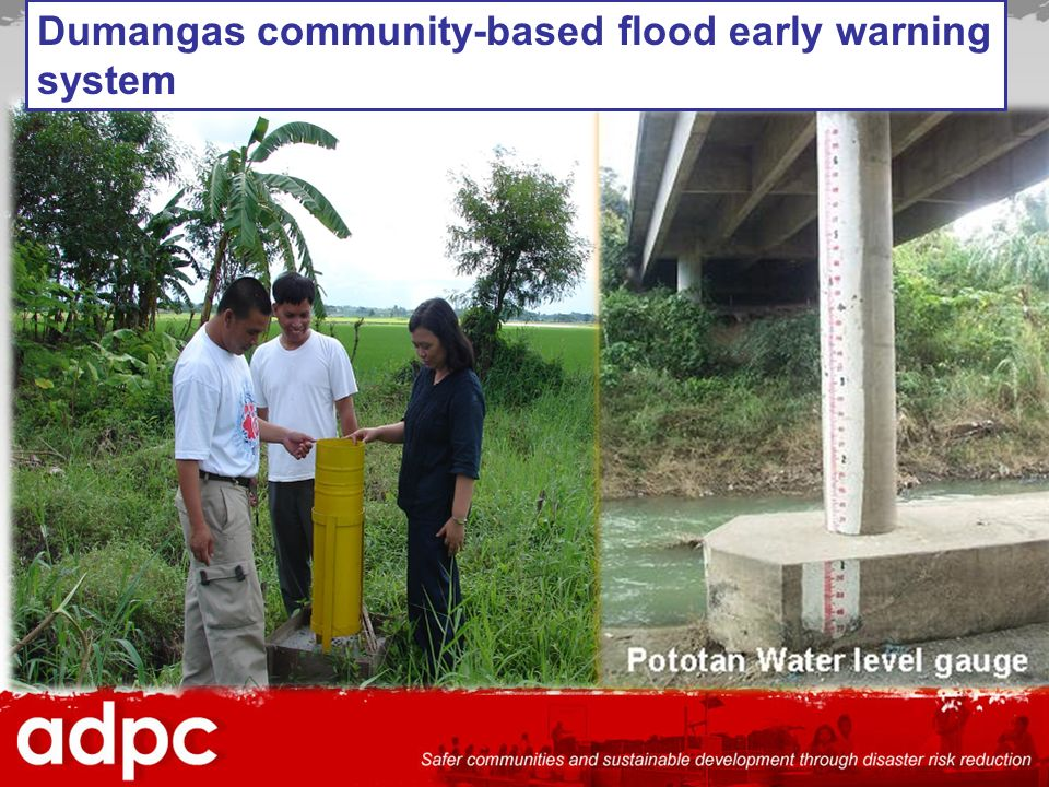 Dumangas community-based flood early warning system