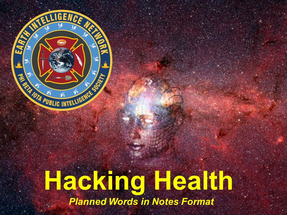 Hacking Health Planned Words in Notes Format
