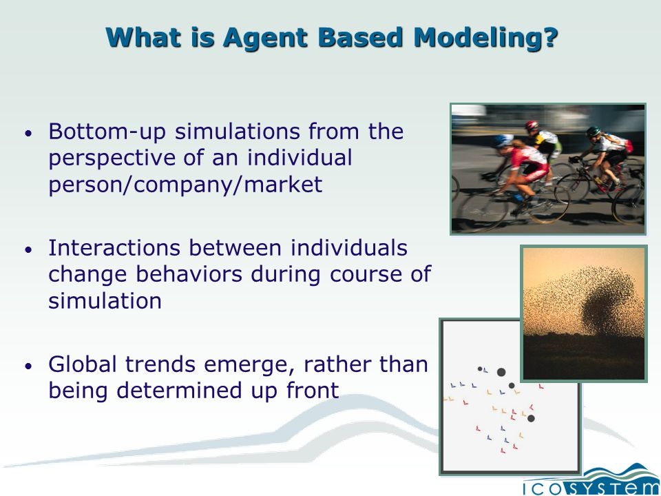 What is Agent Based Modeling.