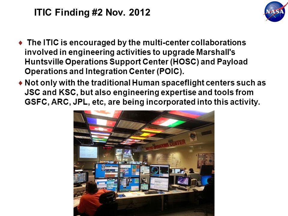 ITIC Finding #2 Nov.