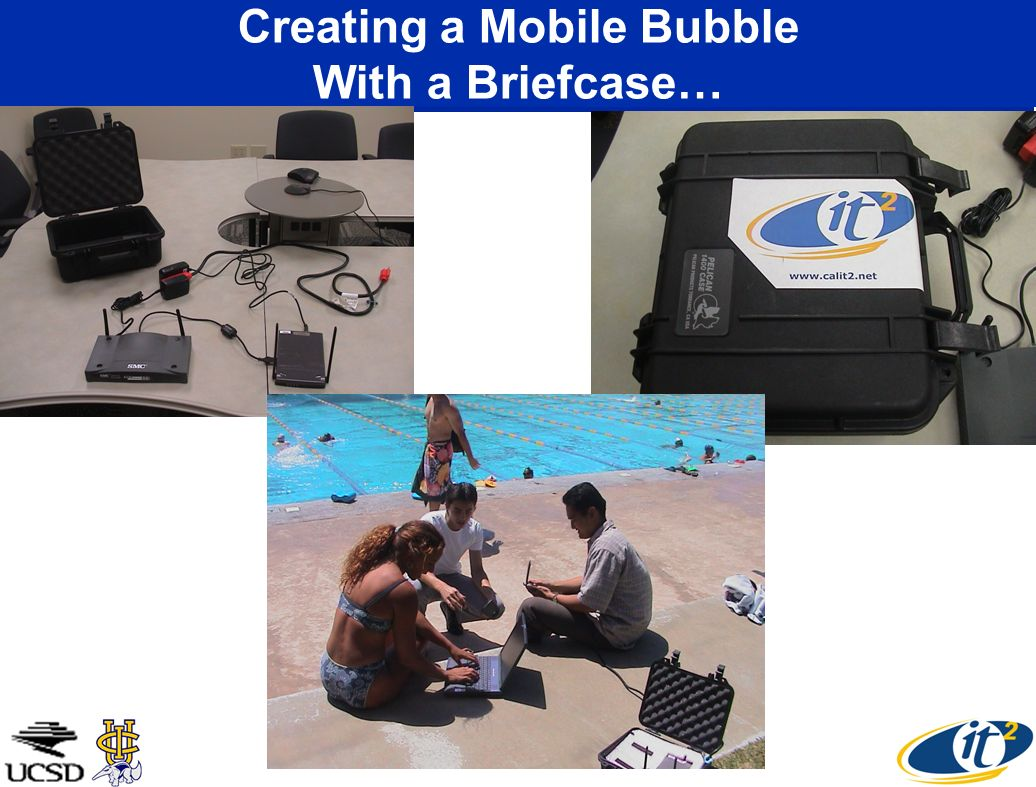Creating a Mobile Bubble With a Briefcase…