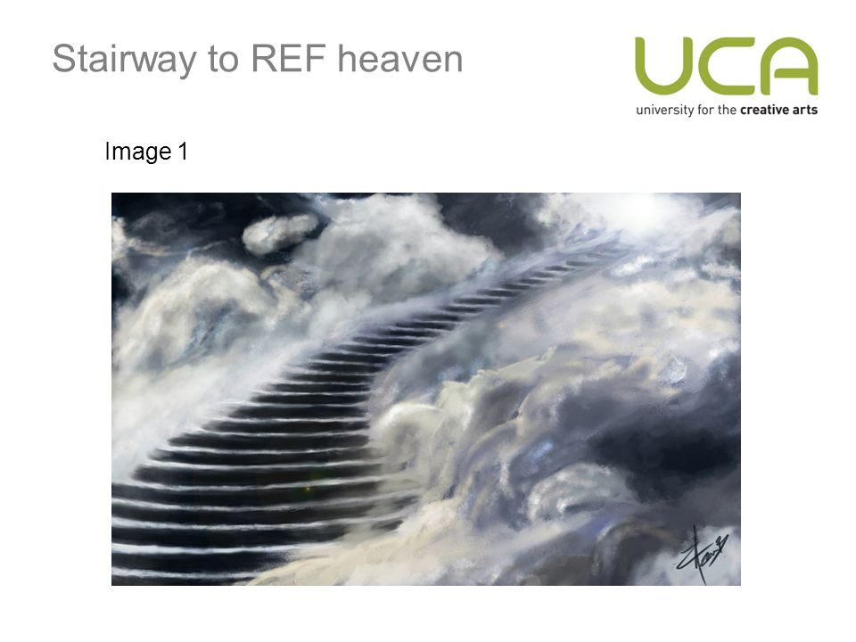 Stairway to REF heaven Image 1
