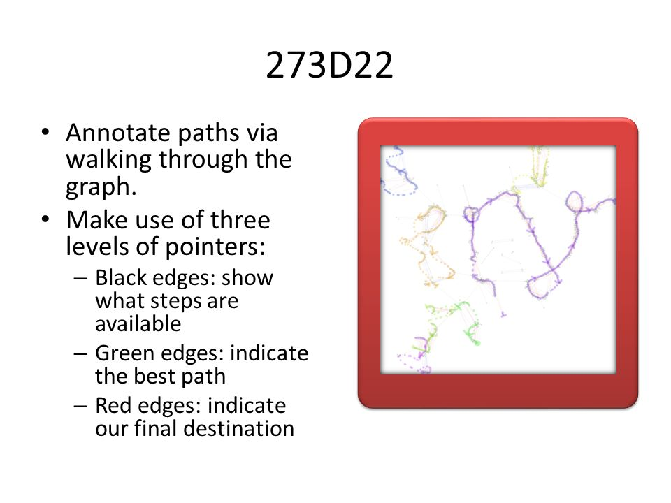 273D22 Annotate paths via walking through the graph.