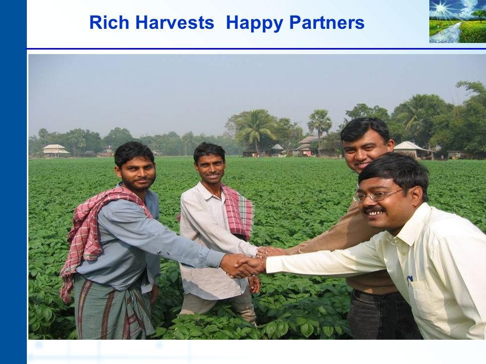 Rich Harvests Happy Partners