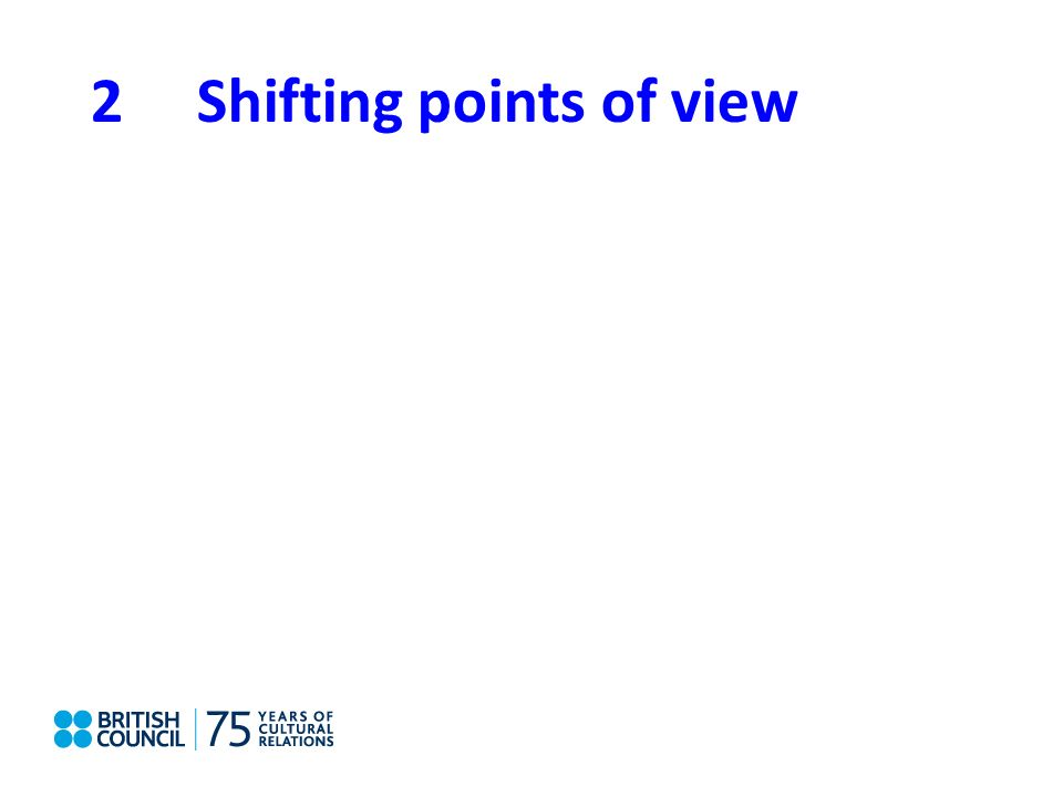 2Shifting points of view