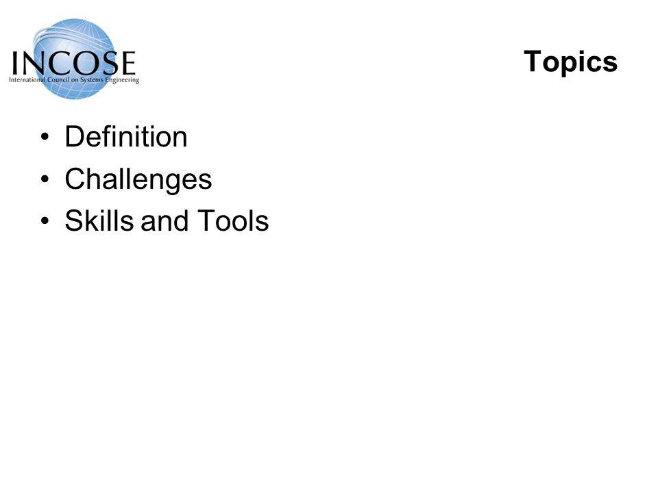 Topics Definition Challenges Skills and Tools