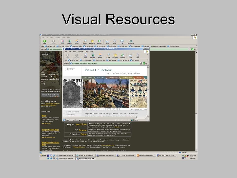 Visual Resources
