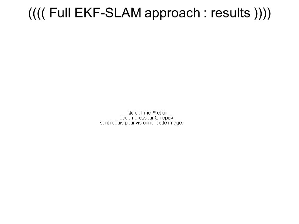 (((( Full EKF-SLAM approach : results ))))