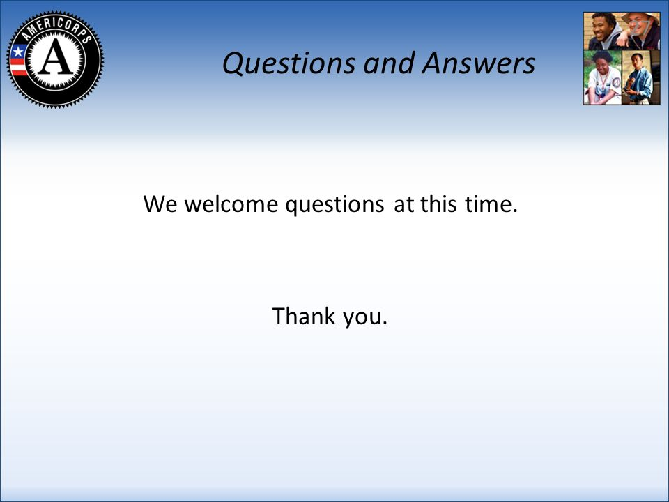 Questions and Answers We welcome questions at this time. Thank you. 27