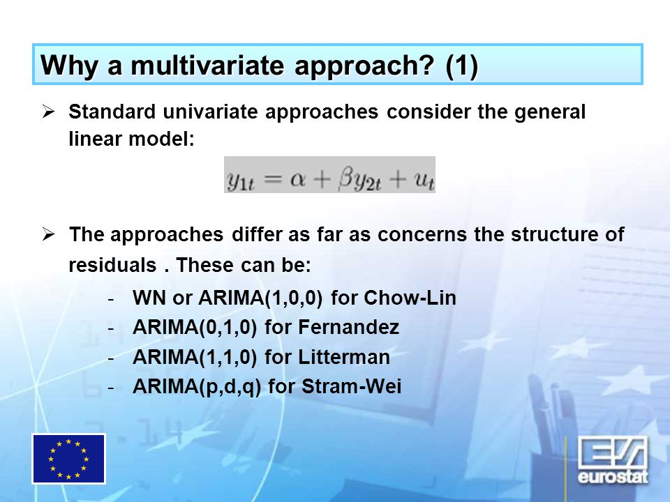 Why a multivariate approach.