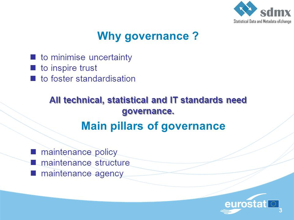 3 Why governance .