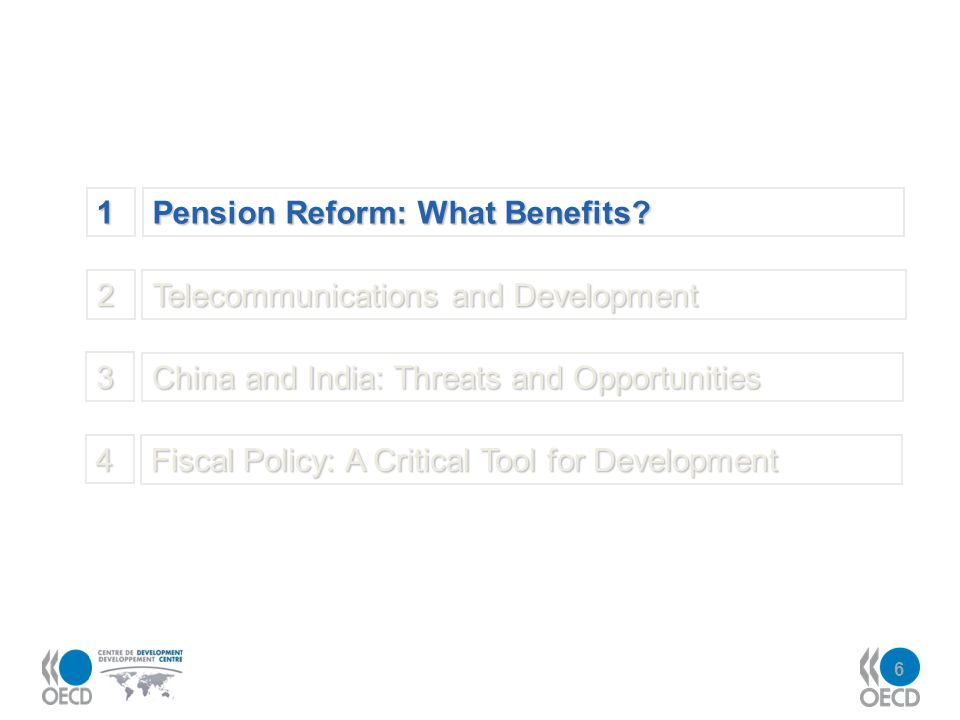 6 1 Pension Reform: What Benefits.