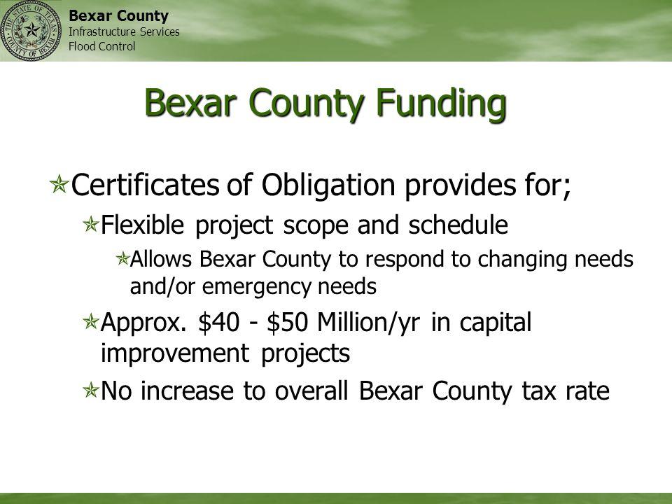 Bexar Regional Watershed Management Program Bexar Regional