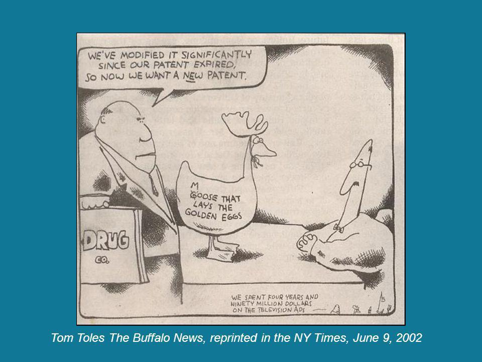 Tom Toles The Buffalo News, reprinted in the NY Times, June 9, 2002