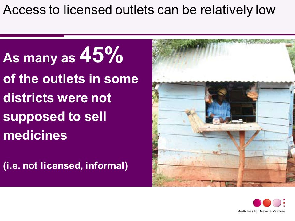 As many as 45% of the outlets in some districts were not supposed to sell medicines (i.e.