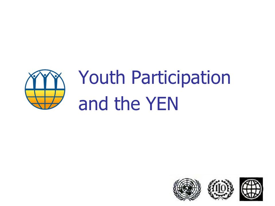 Youth Participation and the YEN