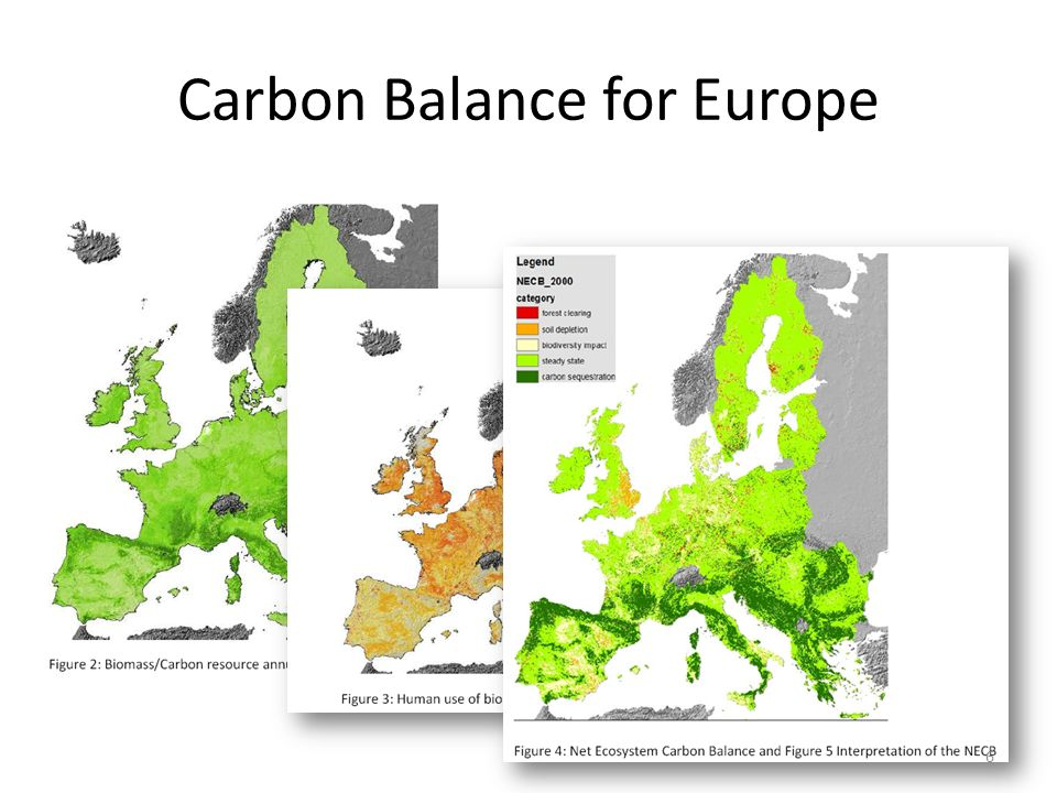 Carbon Balance for Europe 6