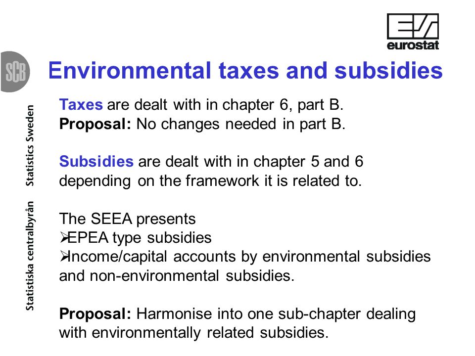 Taxes are dealt with in chapter 6, part B. Proposal: No changes needed in part B.