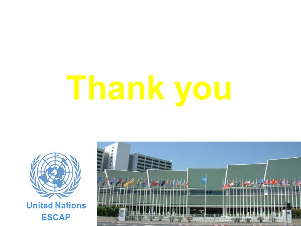 17 United Nations ESCAP Thank you