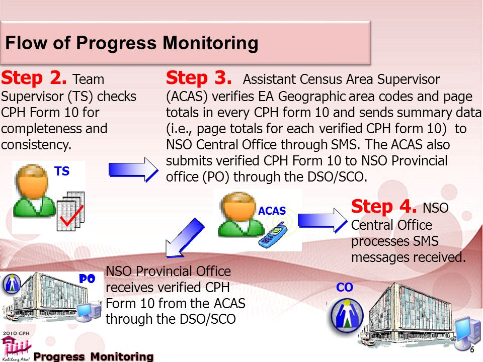 5 Flow of Progress Monitoring Step 2.