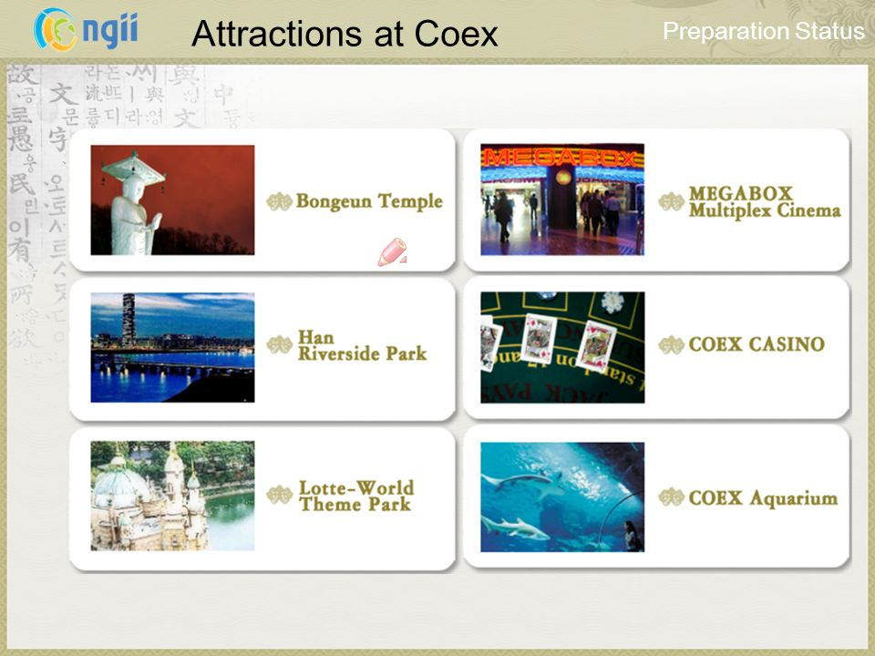 Attractions at Coex