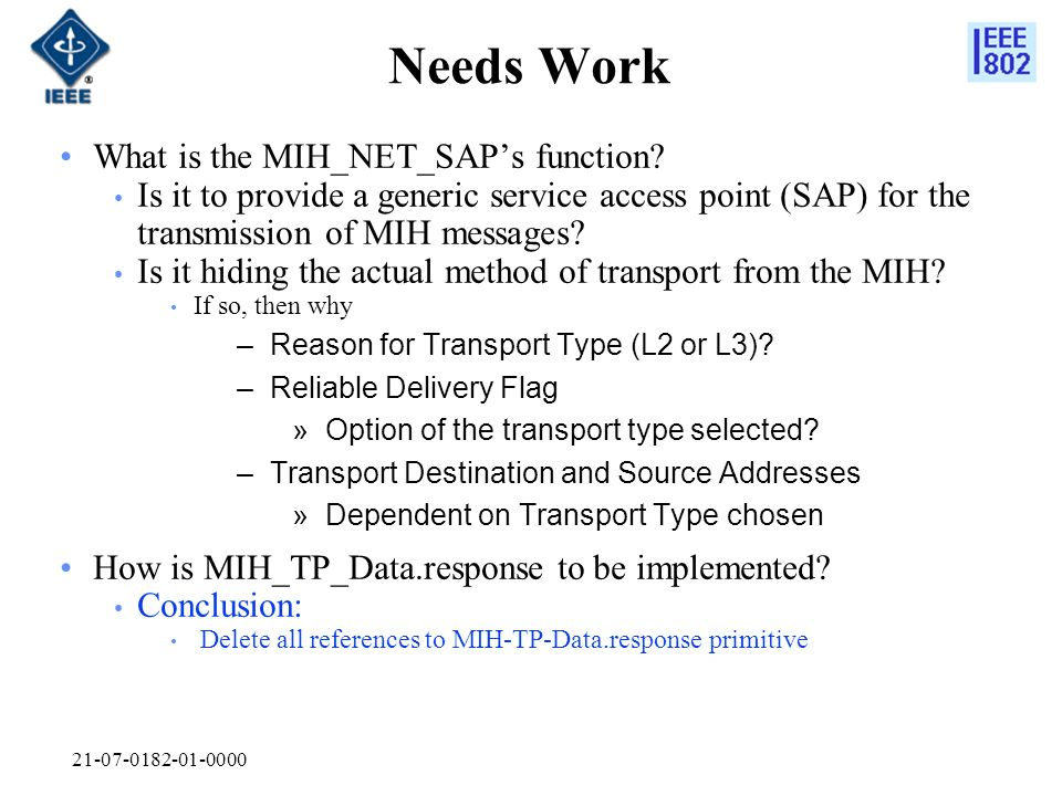 21-07-0182-01-0000 Needs Work What is the MIH_NET_SAPs function.