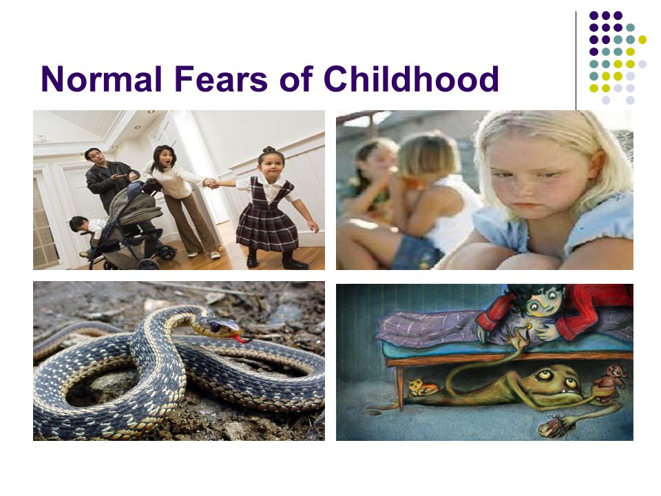Normal Fears of Childhood