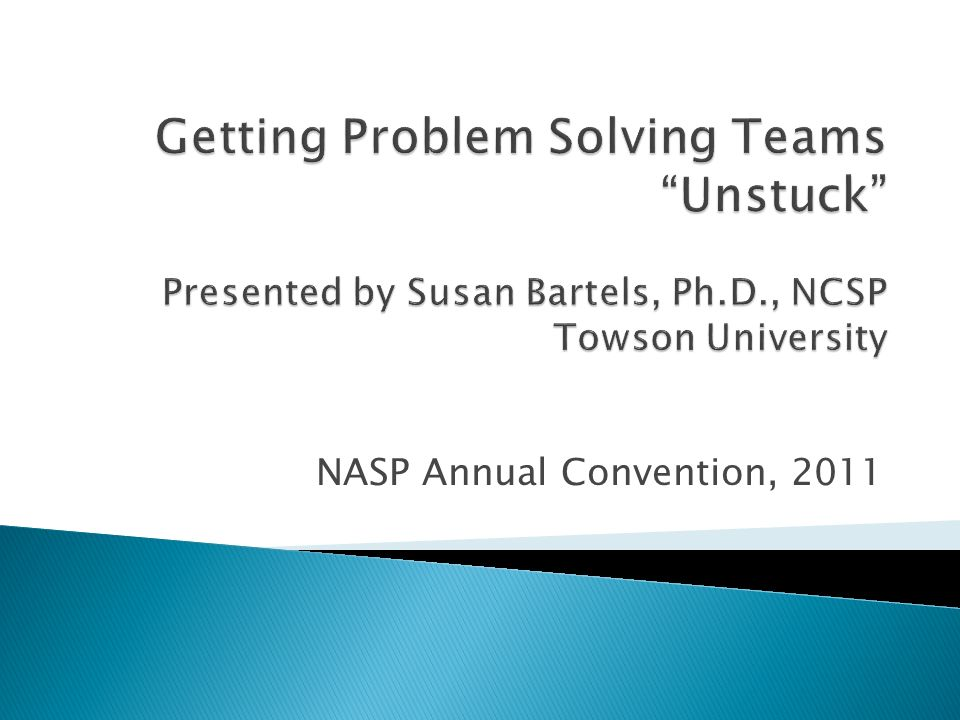 NASP Annual Convention, 2011