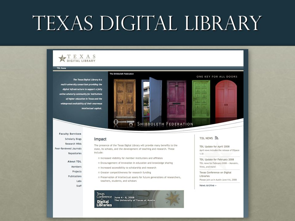 Texas Digital Library