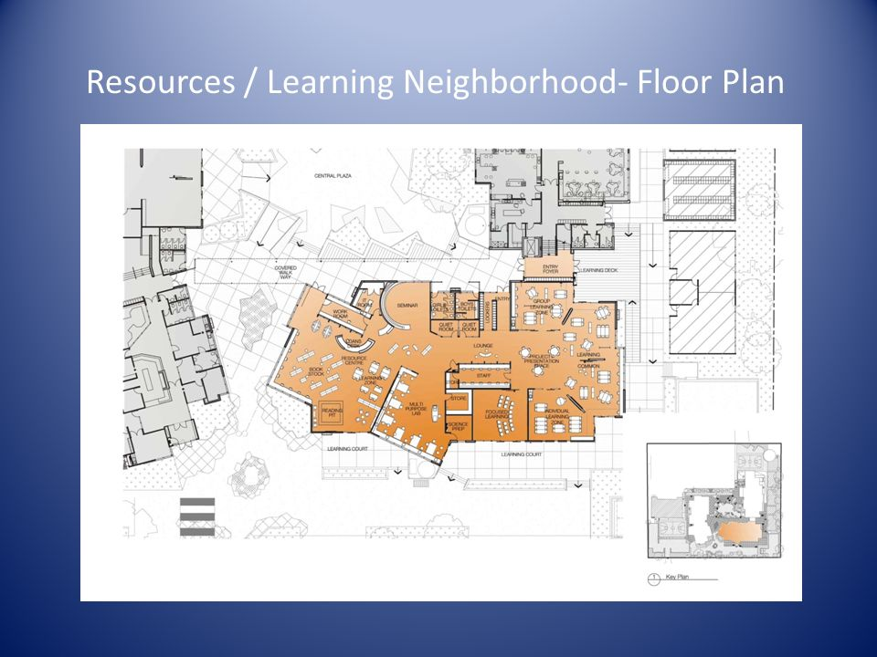 Resources / Learning Neighborhood- Floor Plan