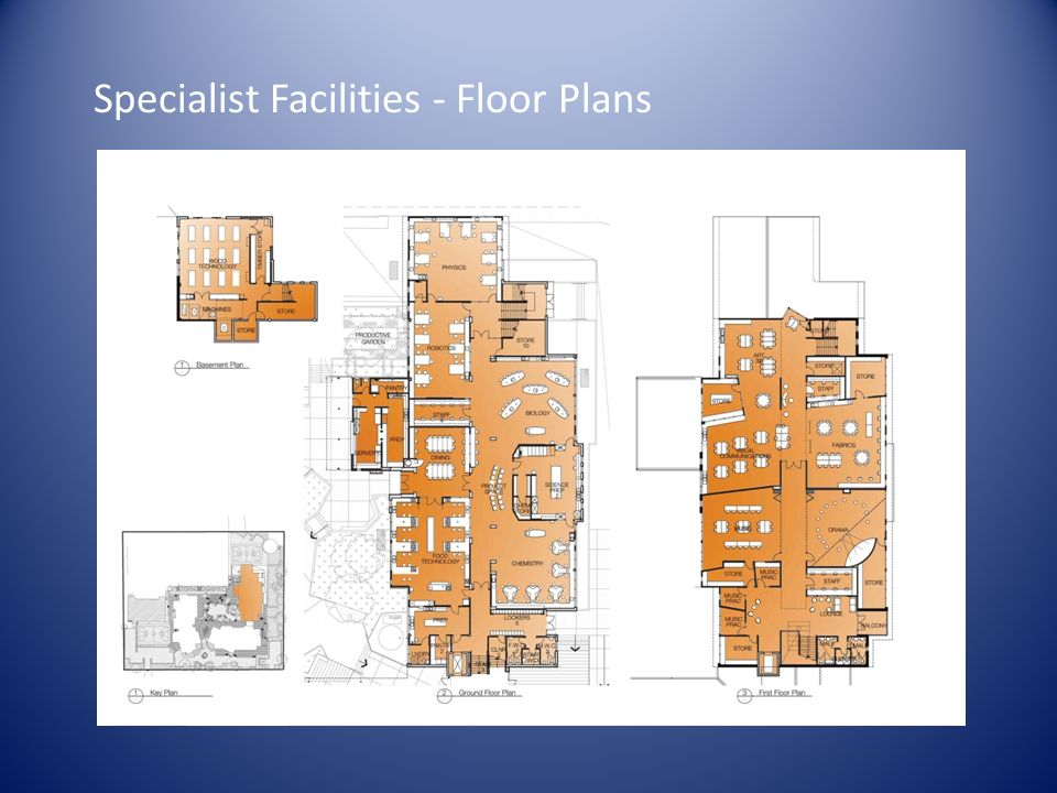 Specialist Facilities - Floor Plans