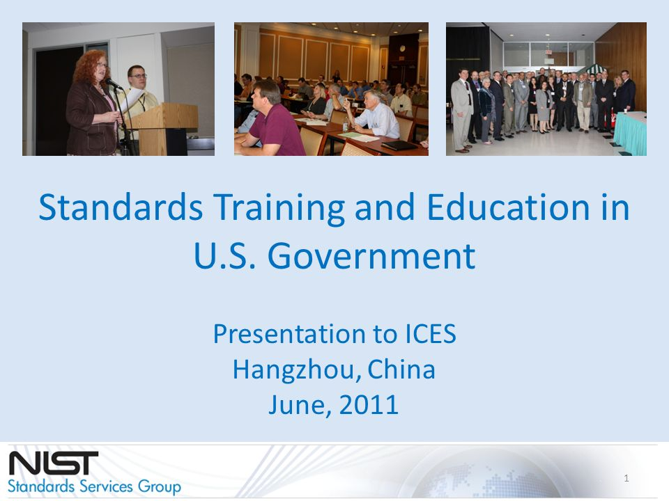 Standards Training and Education in U.S.