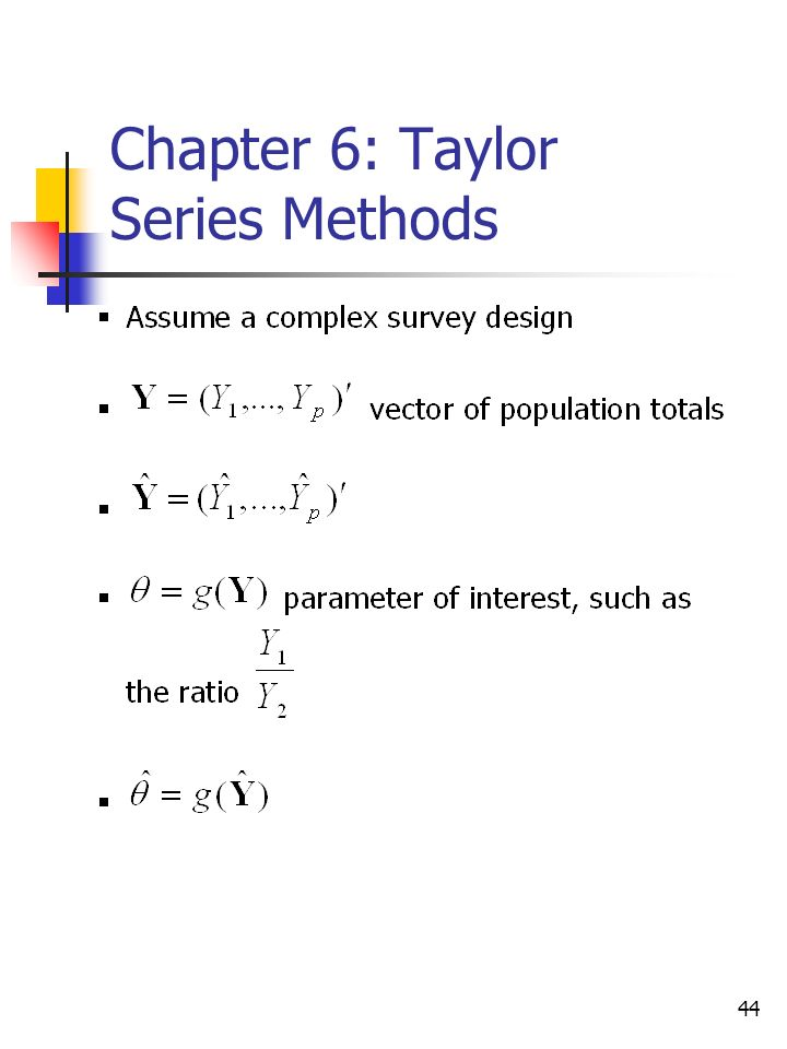 44 Chapter 6: Taylor Series Methods