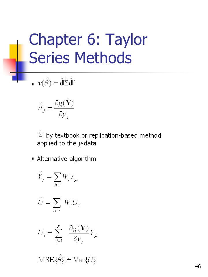 46 Chapter 6: Taylor Series Methods