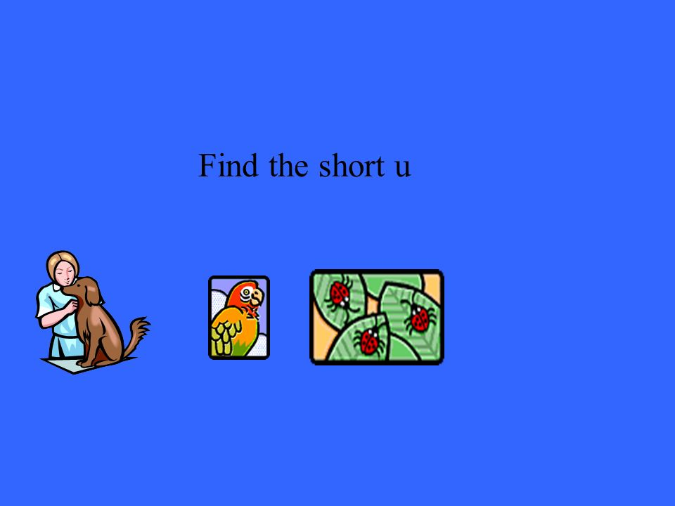 Find the short u