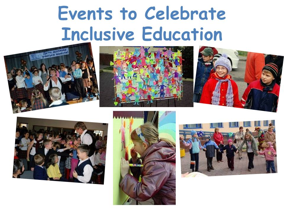 Events to Celebrate Inclusive Education