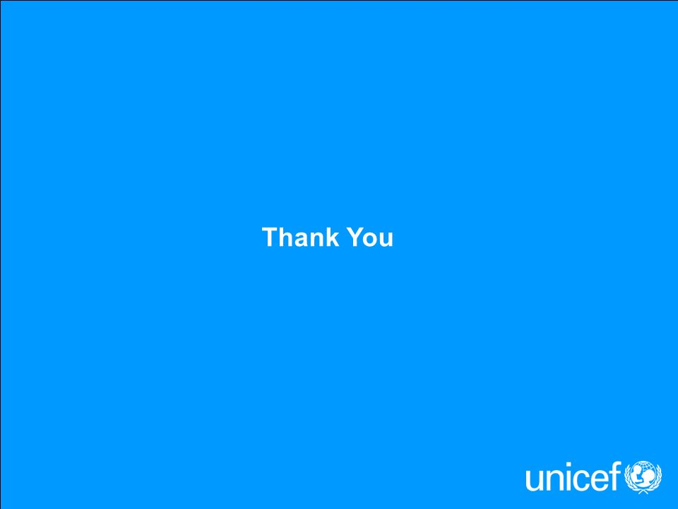 UNICEF VACCINES Thank You