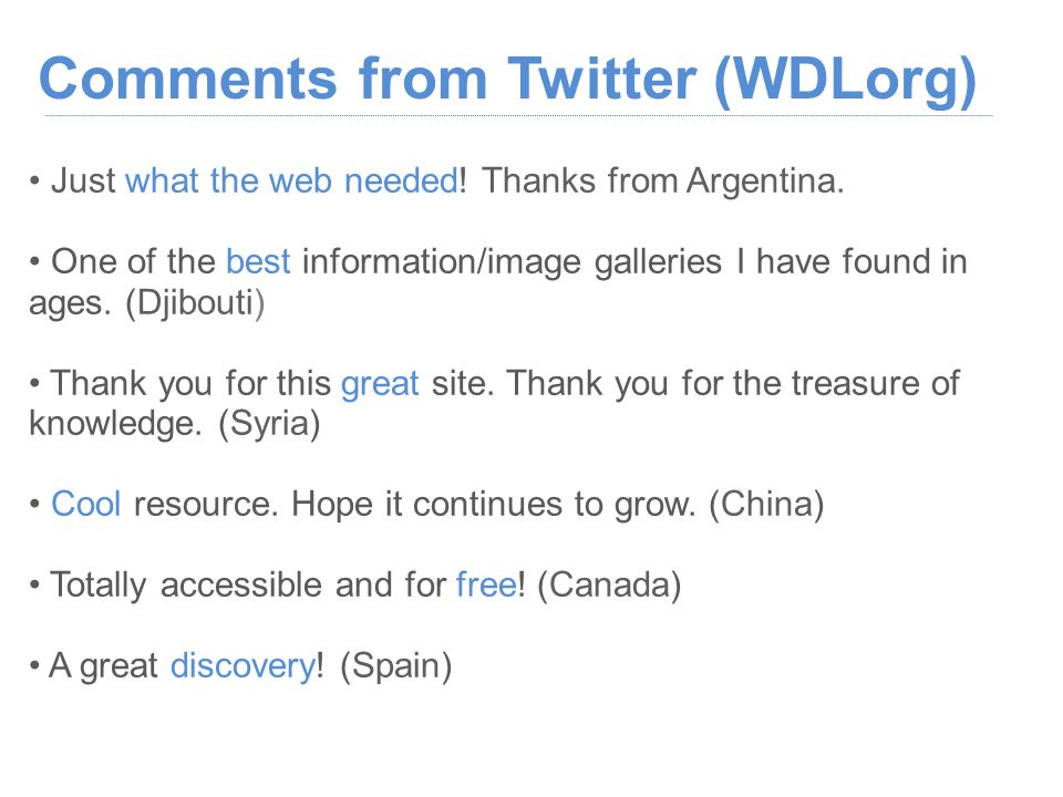 Just what the web needed. Thanks from Argentina.