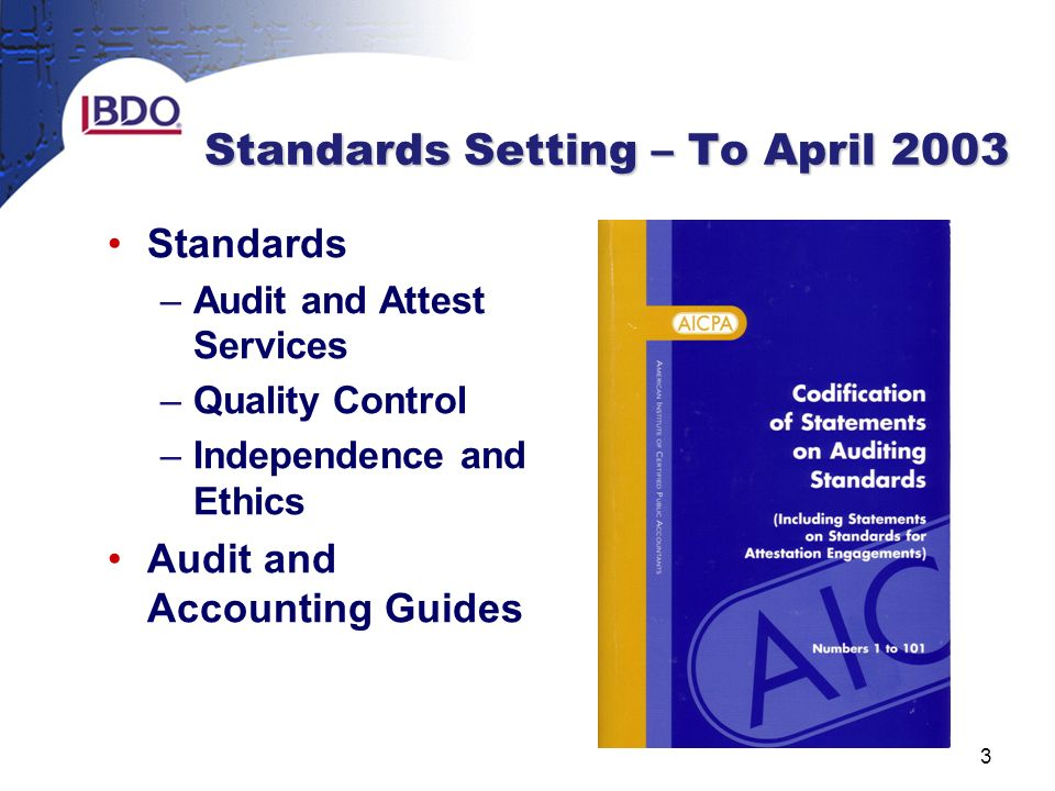 auditing and ethics The pcaob establishes auditing and related professional practice standards for registered public accounting firms to follow in the preparation and issuance of audit reports standards auditing standards.