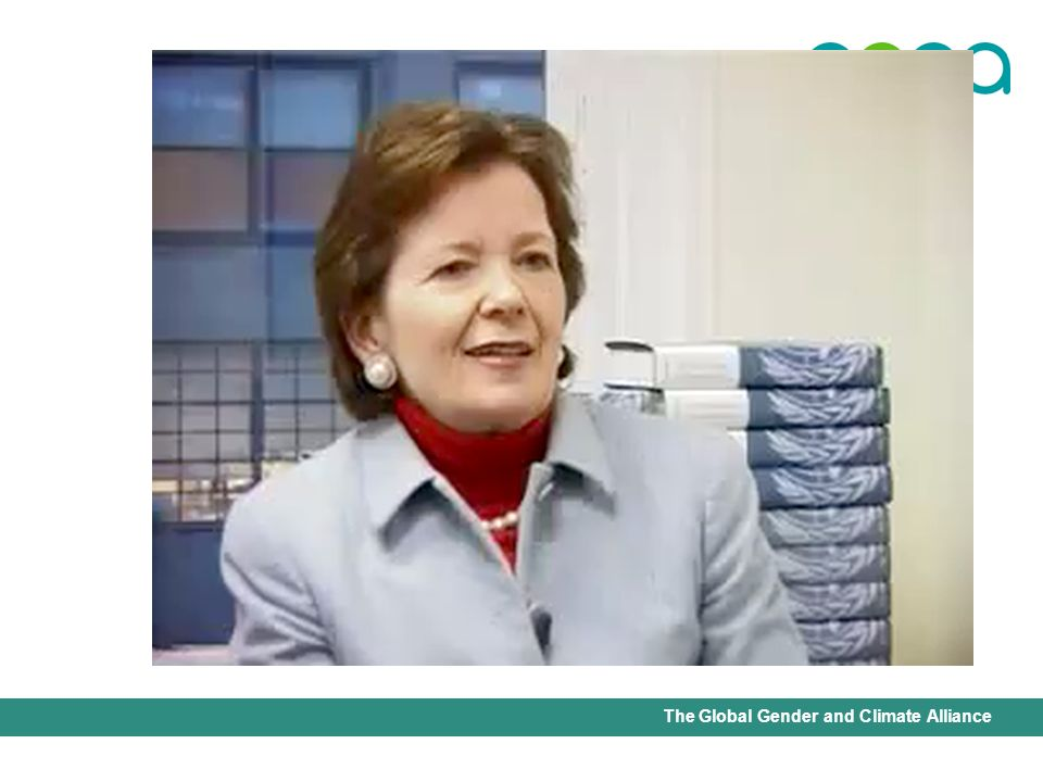 International Union for Conservation of Nature - Office of the Senior Gender AdviserThe Global Gender and Climate Alliance MARY ROBINSON