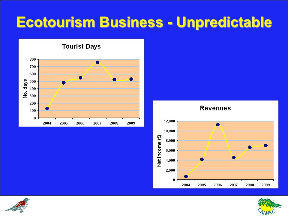 Ecotourism Business - Unpredictable